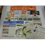1950's PROGRAMMES, 1952/1953, a collection of 37 football programmes from the season. ARSENAL (6)