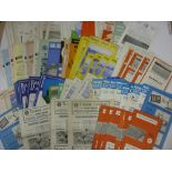 1960's PROGRAMMES, 1960-1969, a collection of 114 football programmes from the period. ALDERSHOT (