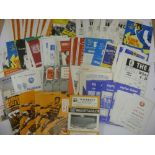 1960's PROGRAMMES, 1960-1970, a collection of 142 football programmes from the period. DONCASTER