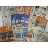 1950's PROGRAMMES, 1955/1956, a collection of 96 football programmes from the season. ARSENAL (22)