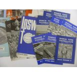 1960's PROGRAMMES, 1960-1970, a collection of 111 football programmes from the period. DERBY