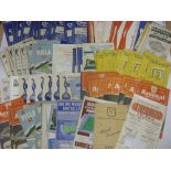 1950's PROGRAMMES, 1957/1958, a collection of 137 football programmes from the season. ARSENAL (