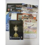 BIRMINGHAM CITY, 1931-2015, a selection of 9 big match football programmes, to include - 2015