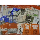 1960's PROGRAMMES, 1960-1970, a collection of 174 football programmes from the period. FULHAM (