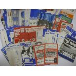 1960's PROGRAMMES, 1961-1970, a collection of 192 football programmes from the period. BIRMINGHAM