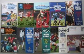 FA YEAR BOOKS MOTSON A complete run of FA Year books from the first issue 1948/49 to 2010/11. All