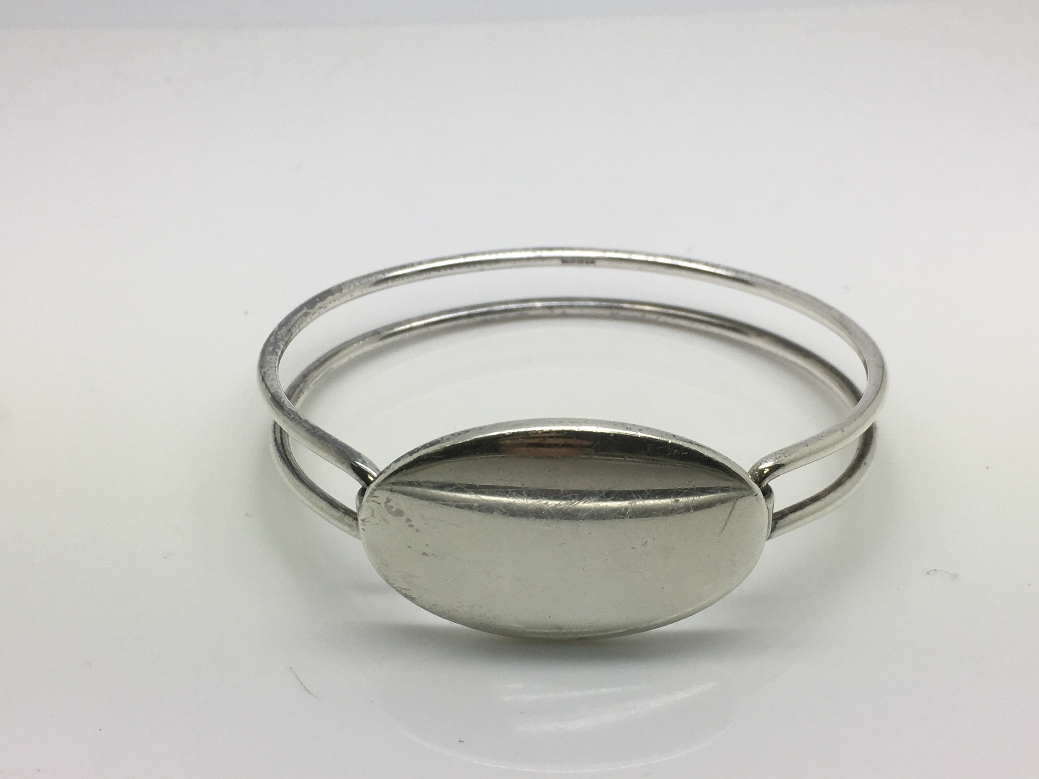 Lot 20 - A rare and discontinued Tiffany & Co silver double