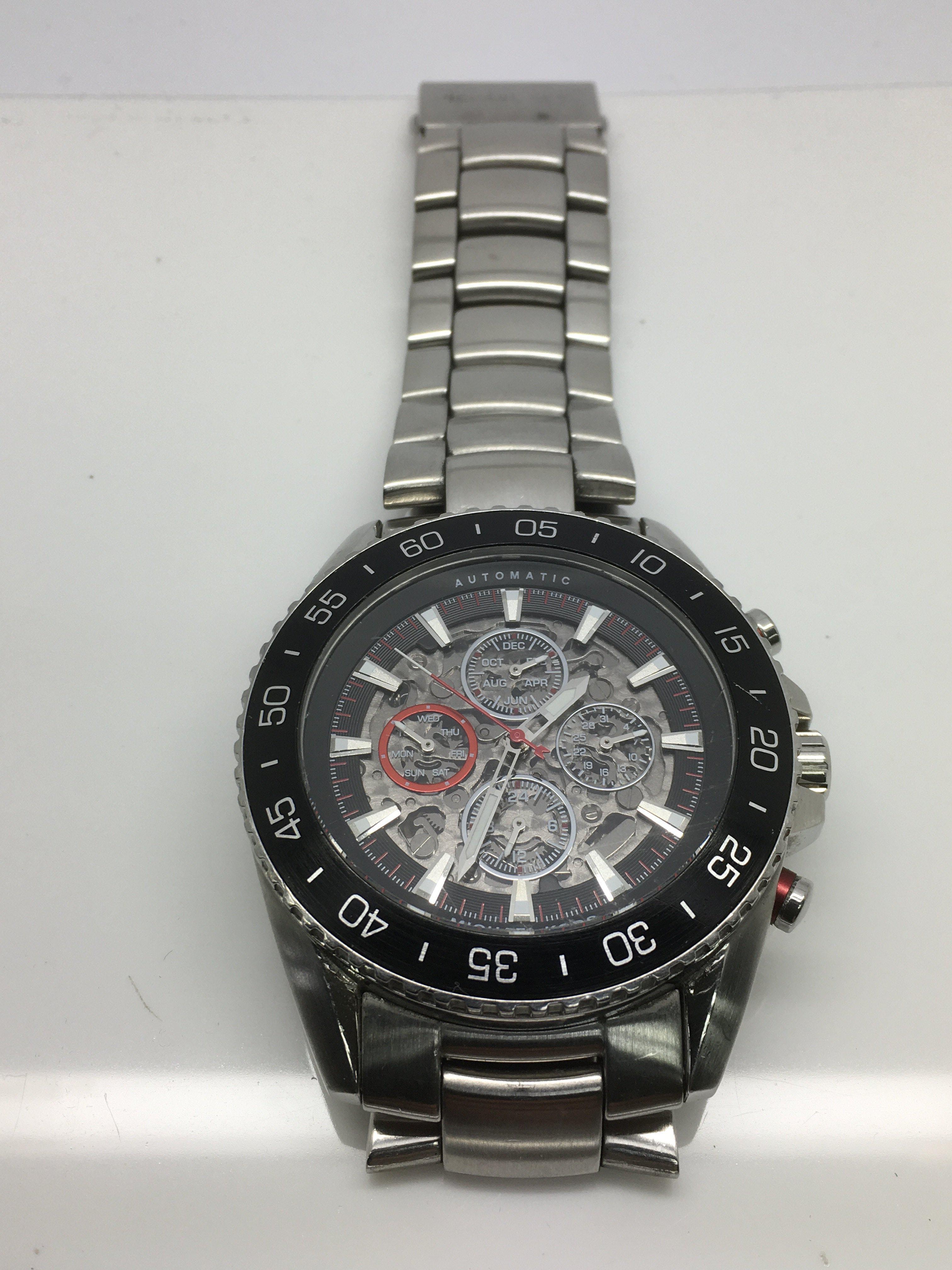 Lot 39 - A gents Michael Kors automatic chronograph watch.
