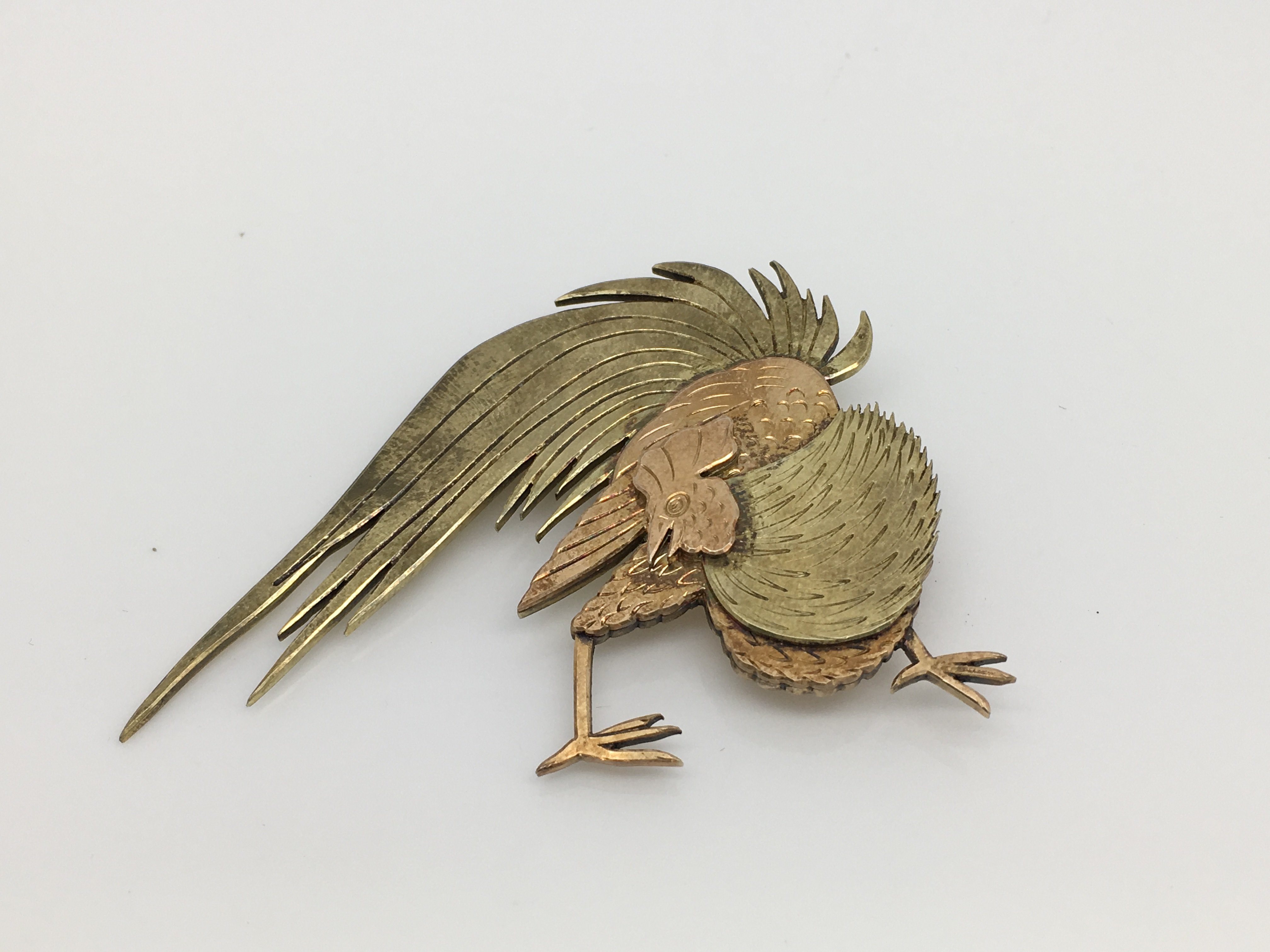 Lot 10 - A signed silver brooch by the Swedish designer Wiw