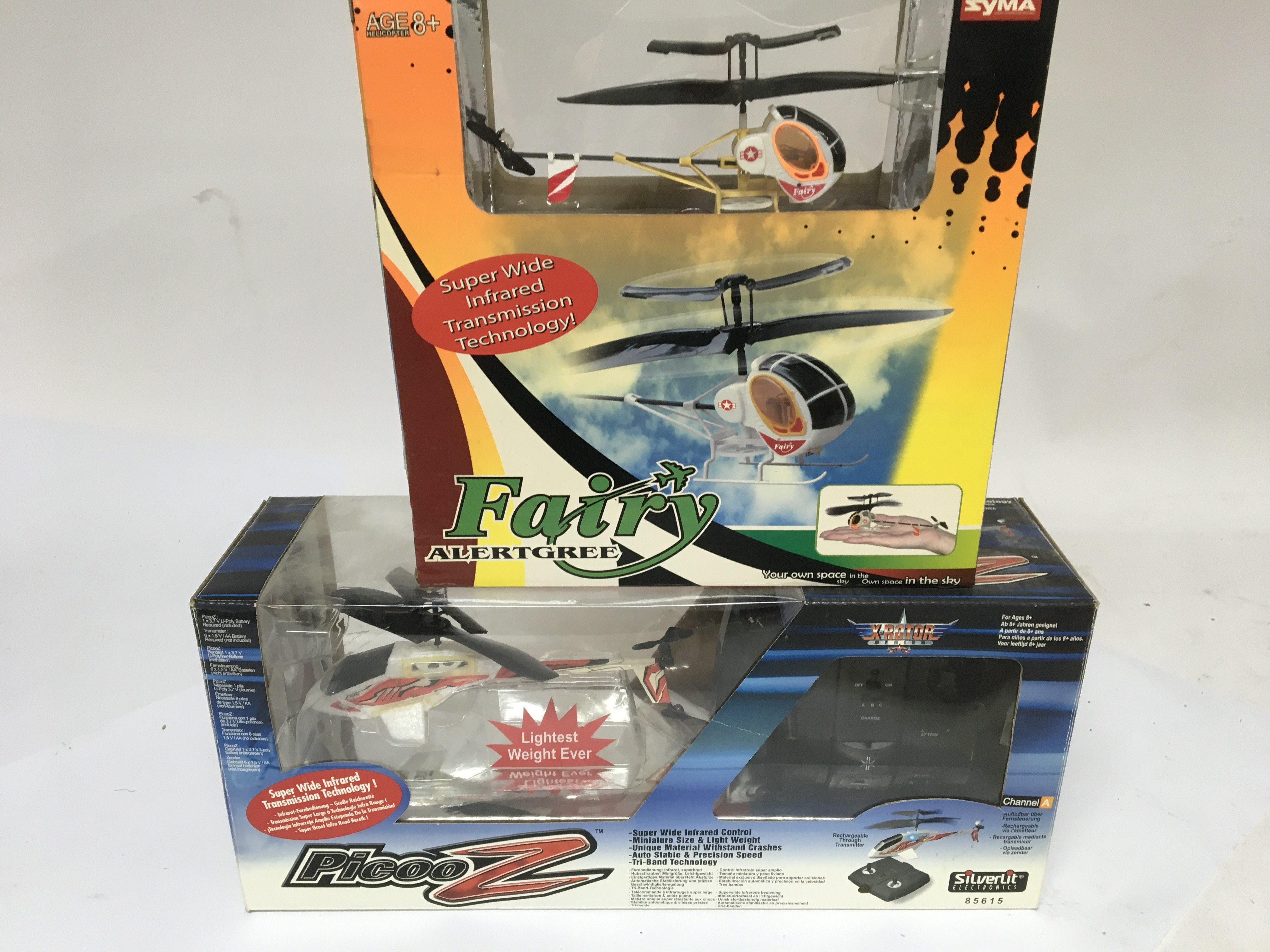 Lot 270 - Two boxed remote control helicopters