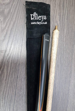 Lot 2 - Stuart Bingham Signed Snooker Cue - a Signed cue, 2015, including velvet cue sleeve