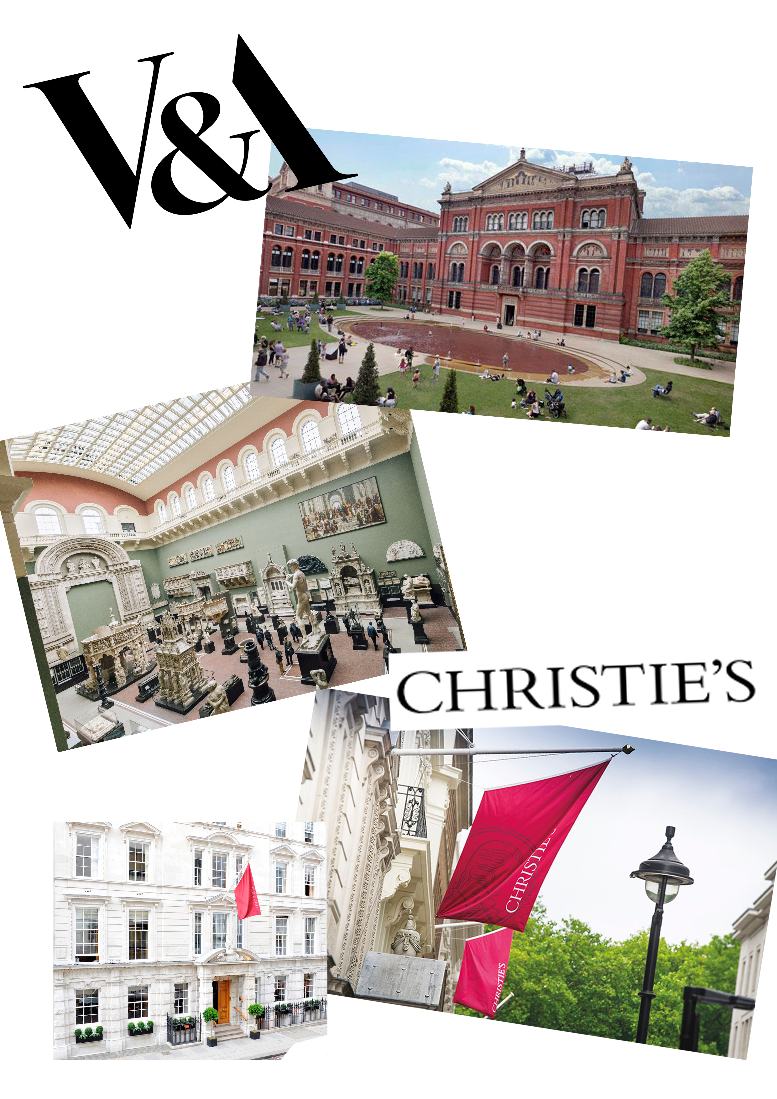 Lot 21 - A visit to the worlds best auction house Christies and a guided tour of the Victorian and Albert