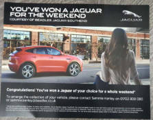 Beadles Jaguar/Land rover for a weekend - Beadles Jaguar Southend are thrilled to supply the