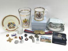 A collection of Royalty ephemera including coronat