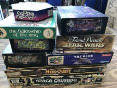 A collection of board games etc.(9)