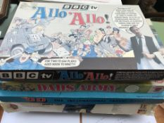 A collection of board games etc (6)