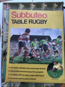 A subbuteo rugby game and a crickets game. (2)