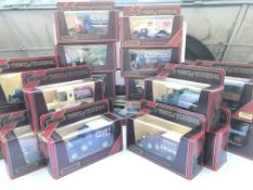 A collection of matchbox yesteryear boxed cars(20)