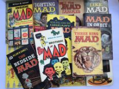 A collection of mad books