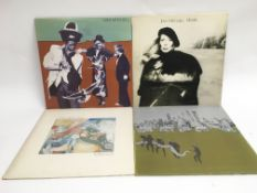 Four Joni Mitchell LPs comprising 'Mingus', 'Hejir