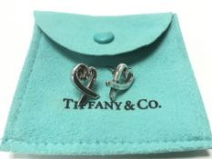 A pair of Tiffany & Co. fully hallmarked sterling
