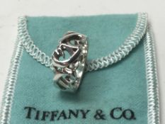 A sterling silver Tiffany & Co. ring by Paloma Pic