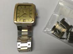 A vintage Longines quartz Ferrari edition wristwat