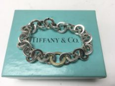 A Tiffany & Co. sterling silver and yellow gold Ci
