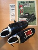First Advert for George Best Stylo Football Boots: Dated 16th August 1969. Pair of original Stylo