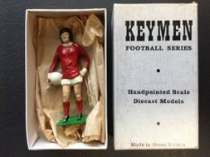 1971 George Best Hand Painted Manchester United Keymen Figure: Scale diecast models from the