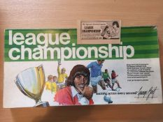 1972 George Best League Championship Board Game: All complete comes with original advert.