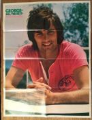 George Best Large Football Poster: Giant poster of the poster boy is made by Mirabelle. George All