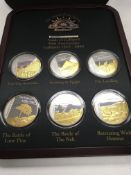 Sands of Gallipoli 90 th Anniversary medallion cas