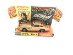 A Corgi James Bond Aston Martin D.B.5 boxed and in