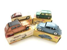 4 Dinky cars boxed,#167 a A.C.Aceca Coupe, #149 Ci
