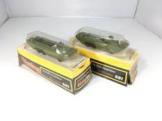 2x dinky D.U.K.W Amphibians #681.both boxed.
