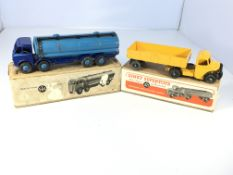 A Dinky Supertoys Foden 14-ton Tanker #504 and a B