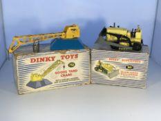 A Dinky Supertoys Good's yard crane #752 and a Bla