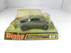 A Dinky Volkswagen KDF and 50 mm P.A.K. Anti-tank
