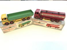 A Dinky #934 Leyland Octopus Wagon and #943 Leylan