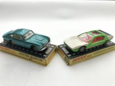 A Dinky #153 Aston Martin DB6 boxed and a #189 Lam
