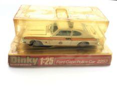 A Dinky Ford Capri Police car #2253.boxed.