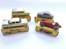 4 Boxed Dinky cars, #193 Rambler cross country sta