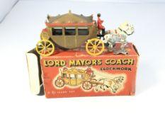 A Teeny toys Clockwork Lord Mayors Coach. With key