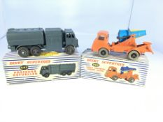 A Dinky Supertoys Pressure refueller# 642 and a Lo