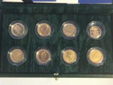 A sovereign portrait collection comprising seven f