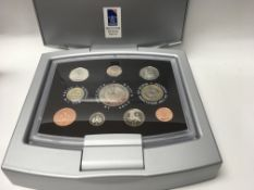 A small collection of Royal mint coins including y