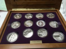 The golden jubilee collection comprising 24 silver