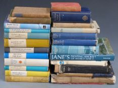Approximately 25 aviation interest books including Miles, Bristol, Vickers, Handley Page and