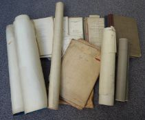 Paperwork, ephemera, maps and drawings relating to the North and South Shields Light Railway (